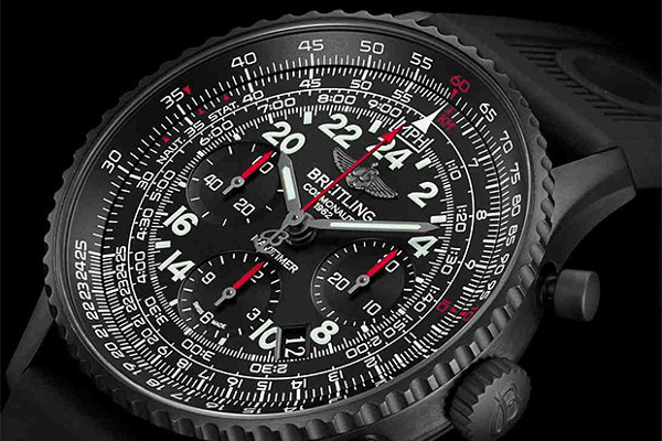 Breitling Navitimer Cosmonaute Blackstee03publ