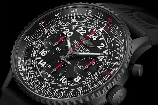 Breitling Navitimer Cosmonaute Blackstee03publ